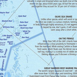 Worksheet. Great Barrier Reef Queensland map  Australian Geographic
