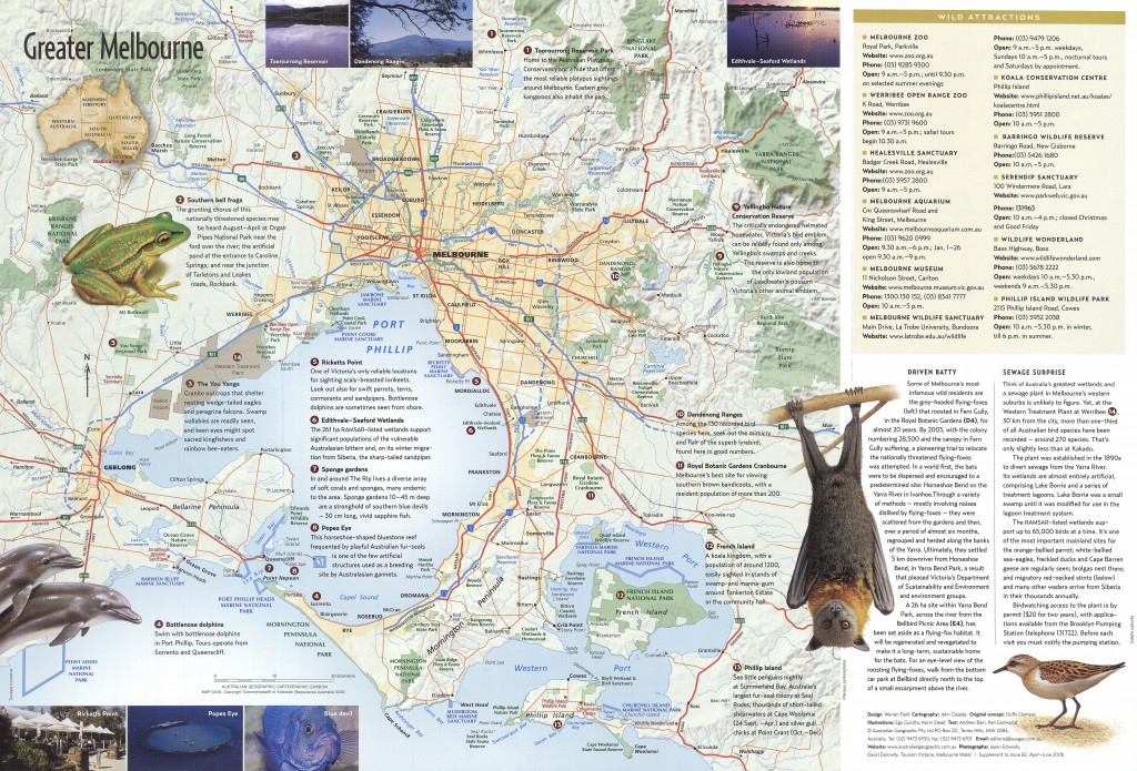 Greater melbourne map australian geographic gumiabroncs Gallery