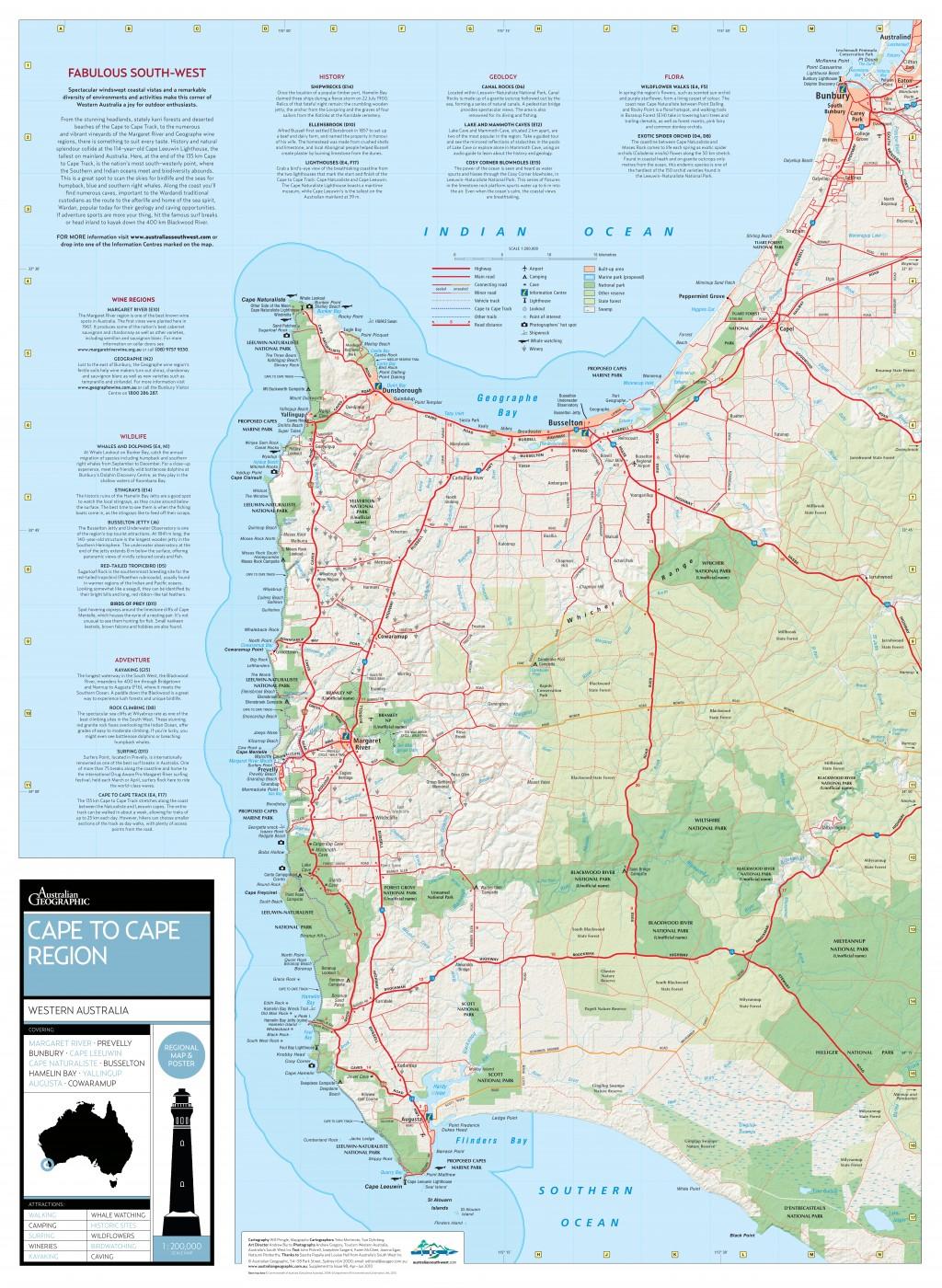 cape to cape track western australia