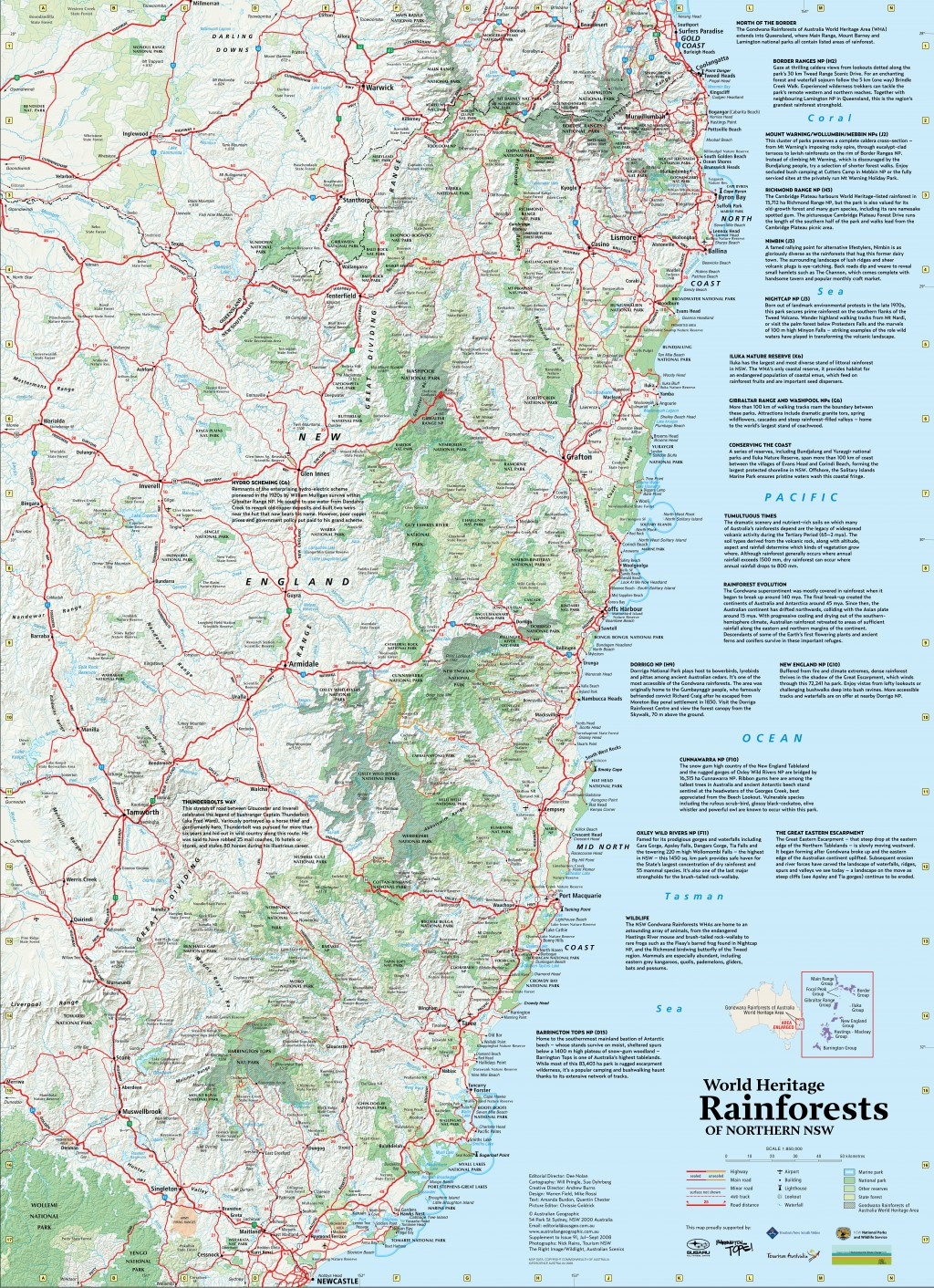 World heritage rainforest map australian geographic gumiabroncs Gallery