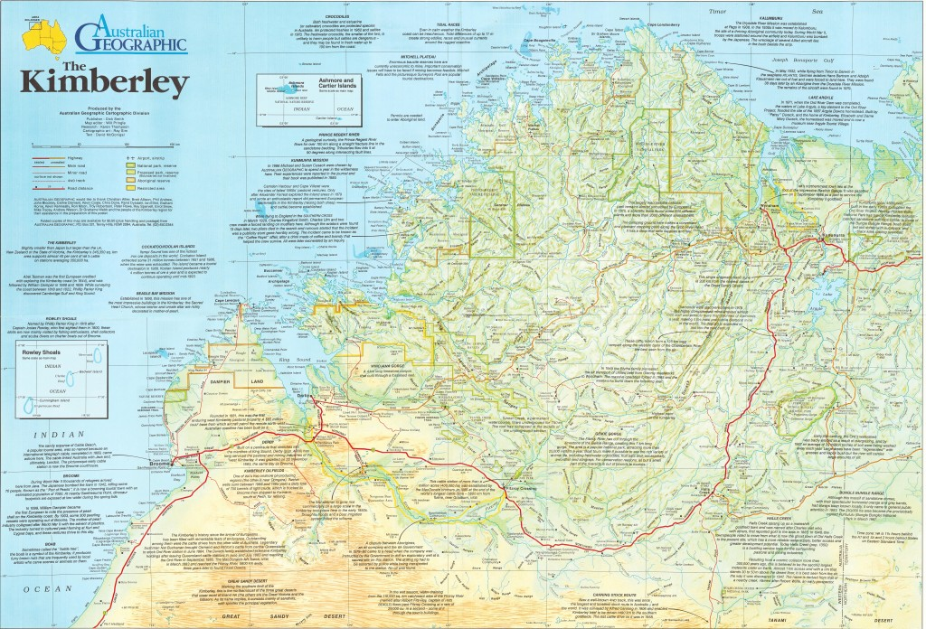 The kimberley map australian geographic gumiabroncs Image collections