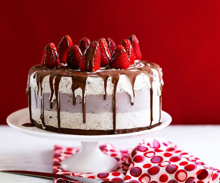 Chocolate Ice Cream Celebration Cake Australian Women S Weekly Food