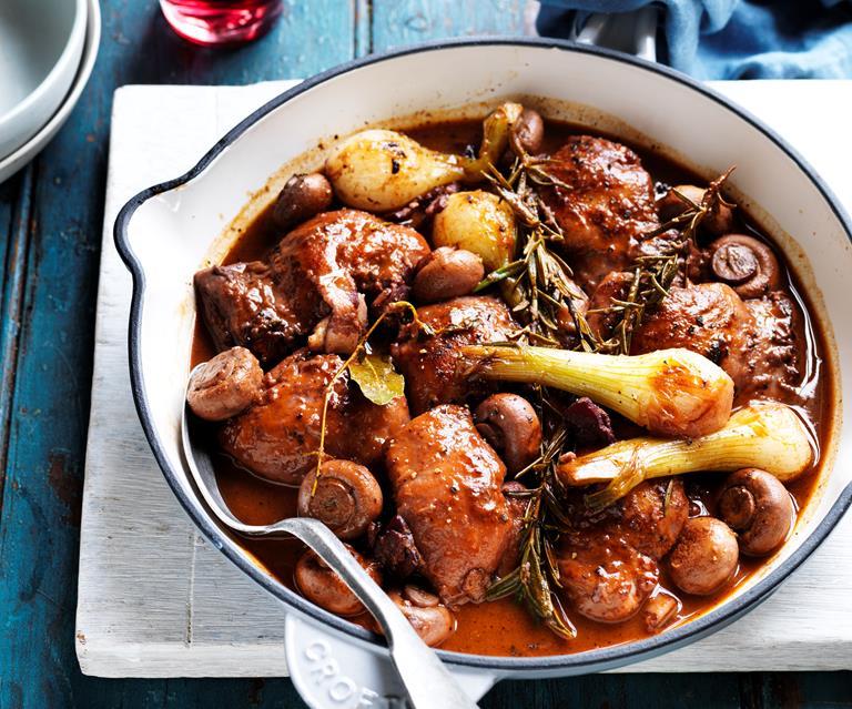 Coq Au Vin Recipe Australian Women S Weekly Food