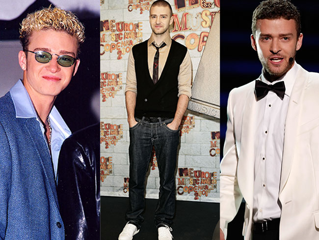Justin Timberlake's style evolution