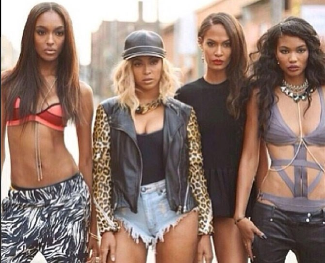 While the world was losing it over the unexpected drop of Beyonce's self-titled visual album, locals were doing their happy dances over the appearance of Australian labels like Lucy Folk and One Teaspoon (seriously, have those High Rollas shorts *ever* looked so good?!)