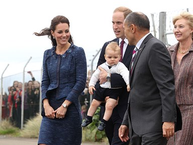 Prince George is not bothered