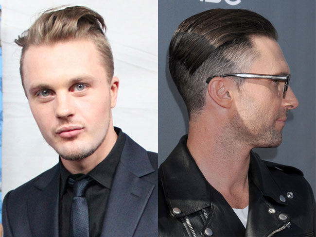 The hot thing in men's hair cuts