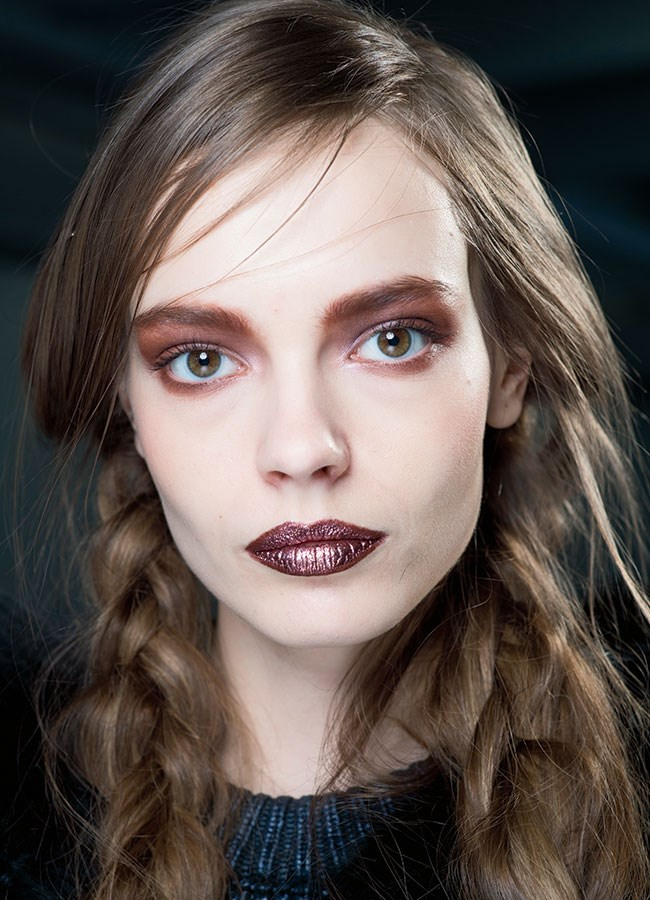 Trend tryer: Love the chic metallic look? Then you should opt for a full metal lip...