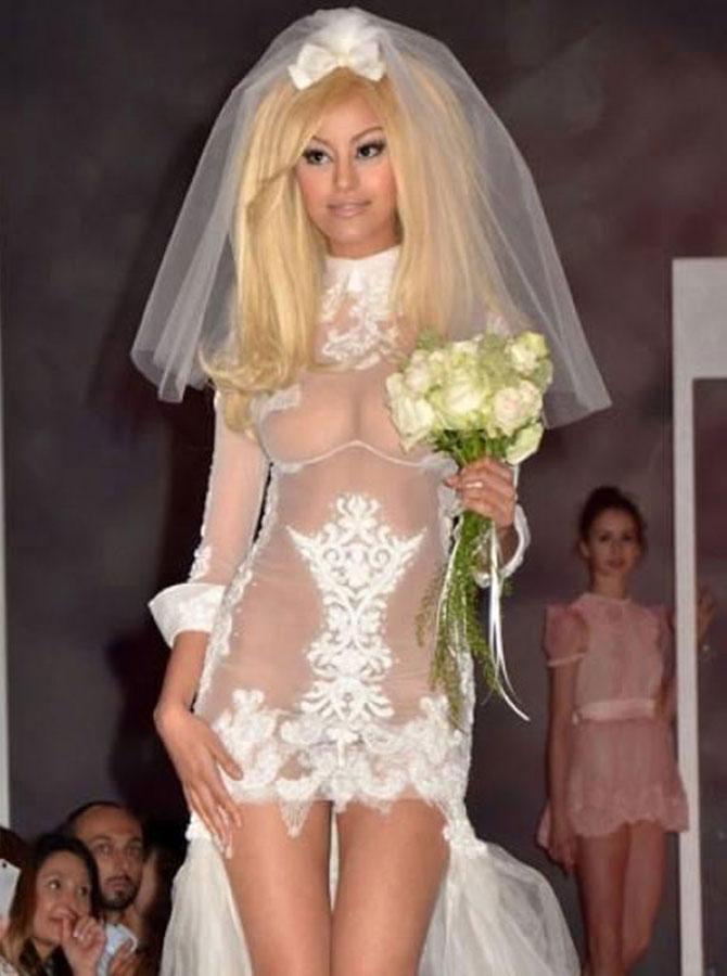 Revealing wedding dresses