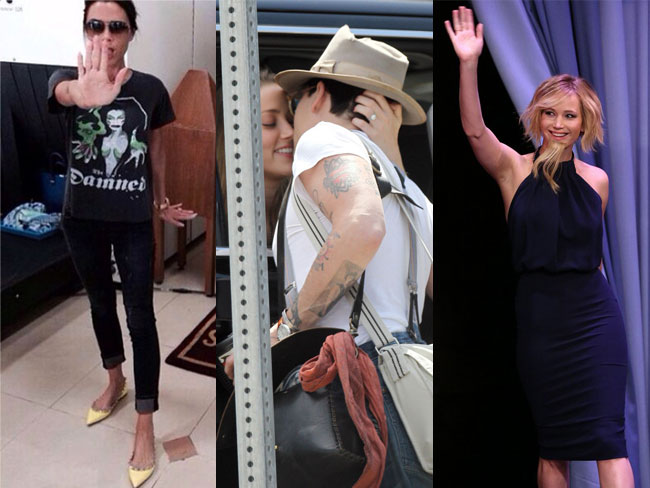Stuff celebs did in May
