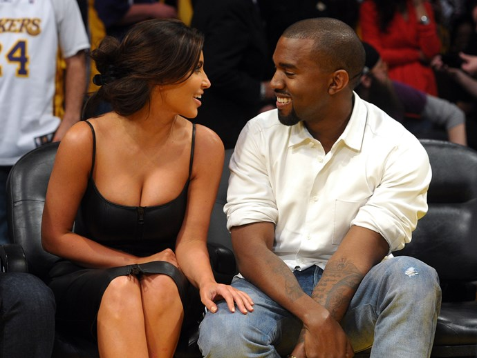 Kim's never been shy when it comes to showing off some skin, but we're convinced that since getting with Kanye she's well and truly embraced the low-cut neckline.