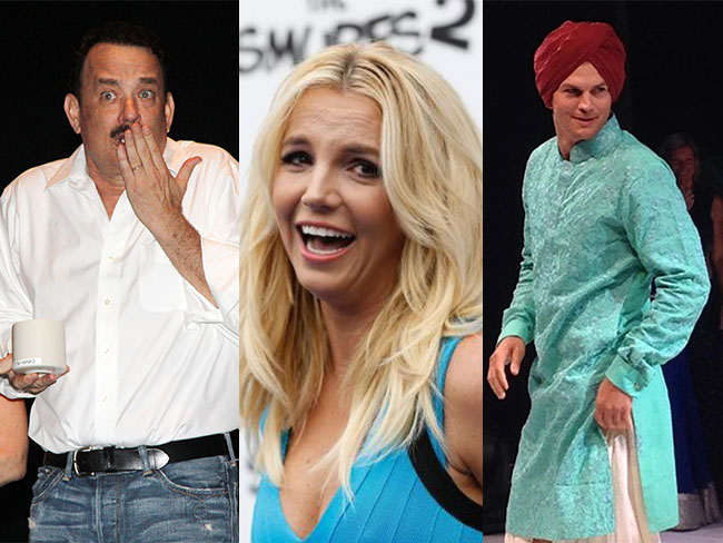 Celebs' awkward dance moves