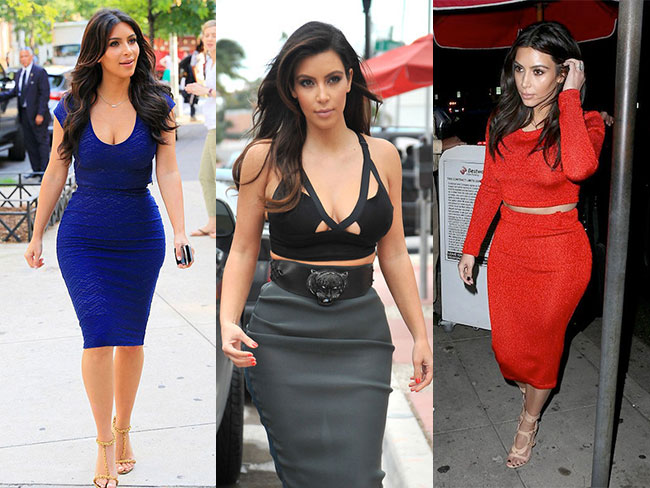 15 times Kim Kardashian wore the same outfit