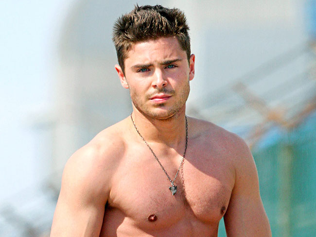 11 times Zac Efron was hot and shirtless
