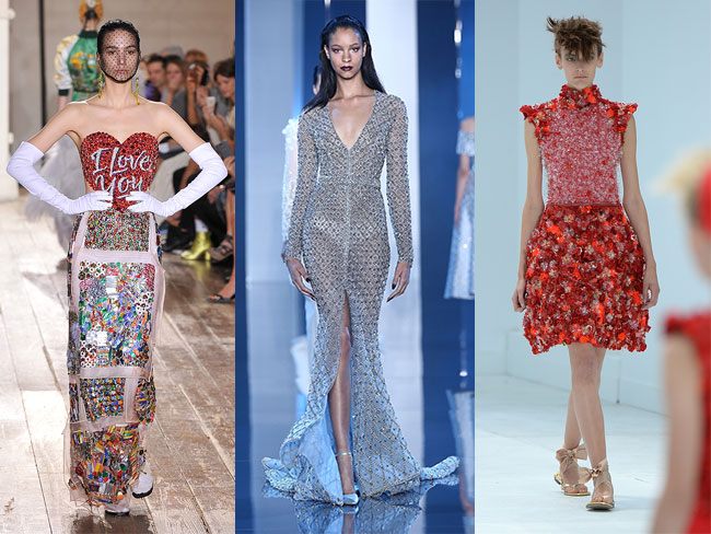 18 of the prettiest dresses at Couture week