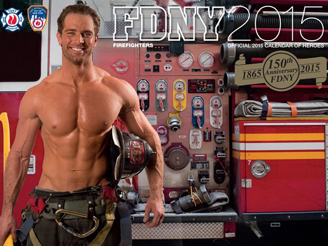 First woman featured in NYC firefighters calendar : Cosmopolitan