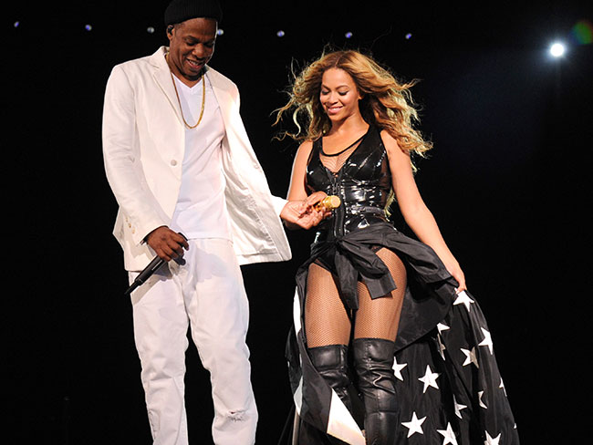 Jay Z and Beyoncé's romance