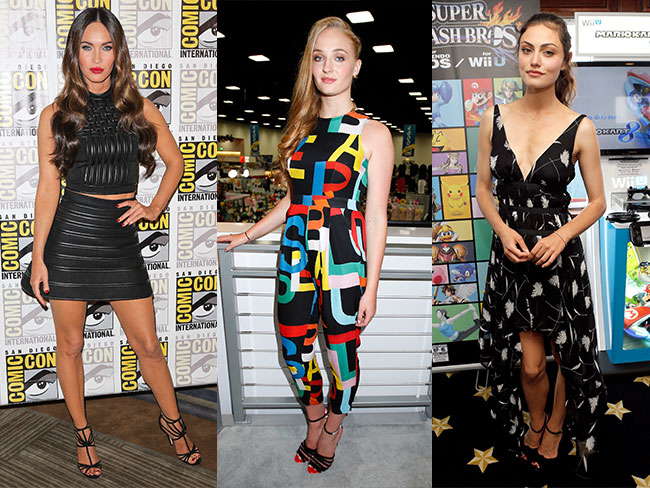 Best celeb Comic Con fashion