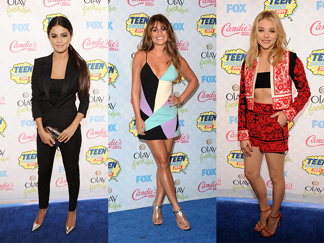 2014 Teen Choice Awards style