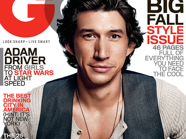Adam Driver talks army acting