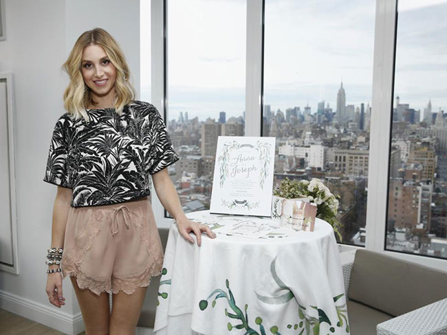 Whitney Port does wedding stationery!