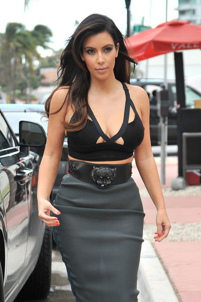 Fact: No top is too tiny or too revealing for Kimmy K.