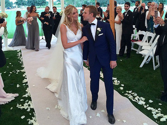 Aussie Angel ties the knot!
