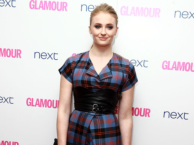 Sophie Turner makes modelling debut
