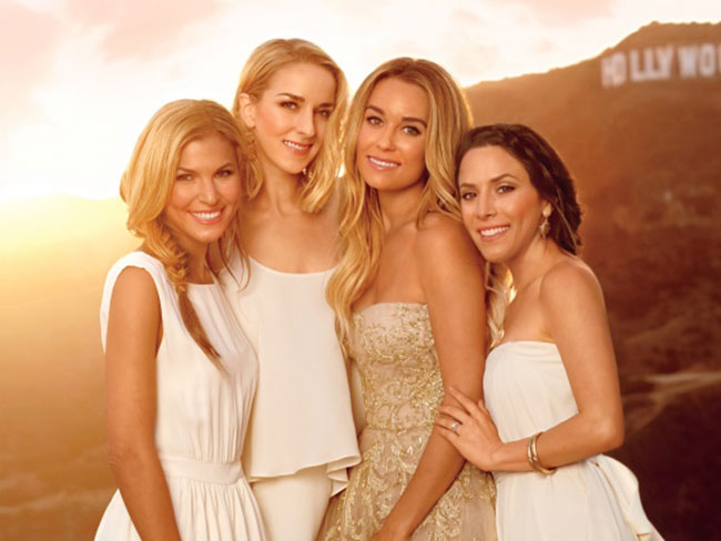 LC's bridesmaids dresses
