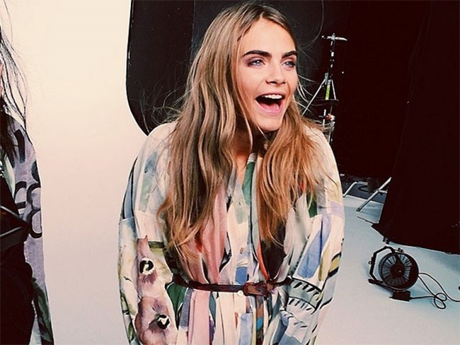 Cara, the next Zoolander?
