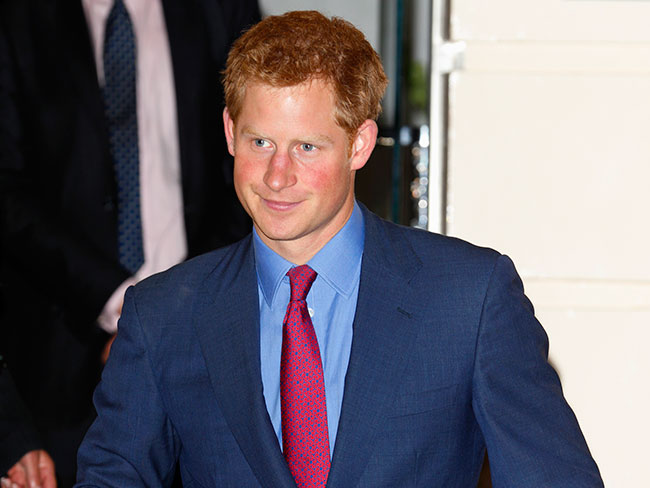 Prince Harry's off the market