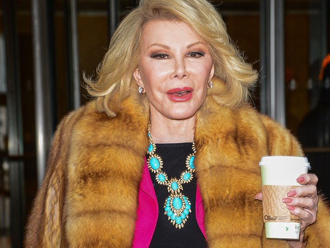 Joan Rivers rushed to hospital