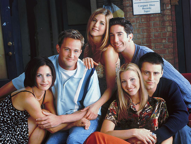 Finally, a Friends reunion!