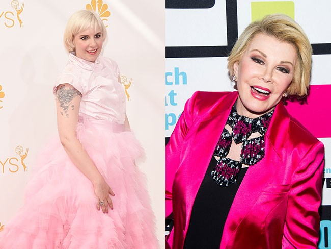 Lena sends support to Joan Rivers
