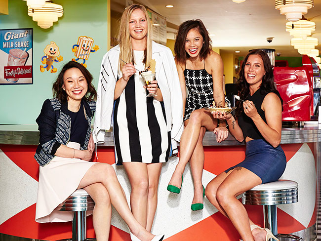 Cosmo's 2014 Fun Fearless Female nominees