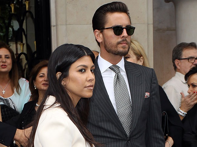 Scott Disick's reaction fail