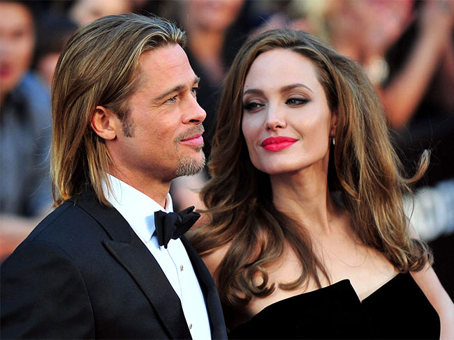 First look at Angelina Jolie and Brad Pitt's wedding pictures