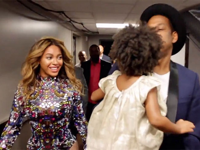 Behind the scenes on Beyoncé's VMA performance