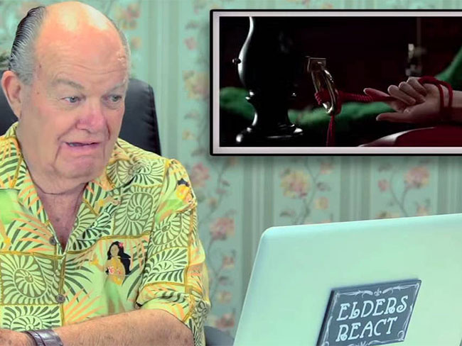 Watch old people react to 50 Shades of Grey