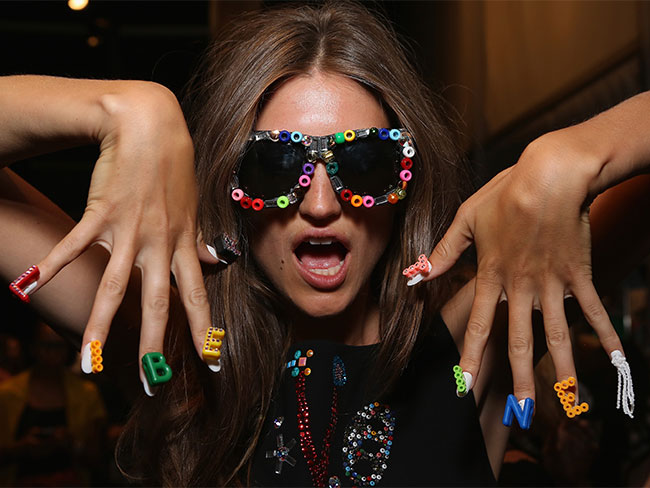 Fashion Week nail art