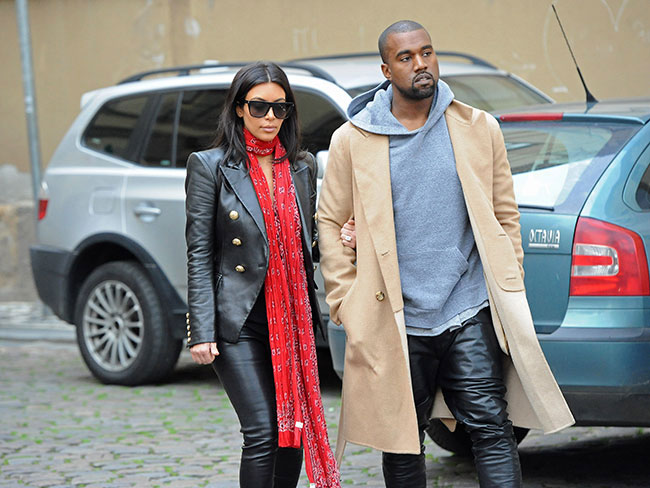 """Don't be mean to Kanye,"" says Kim (kind of…)"
