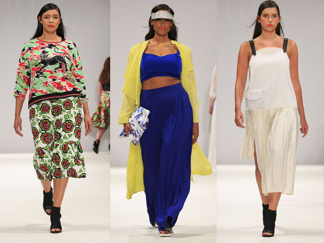 'Plus-size' looks from LFW
