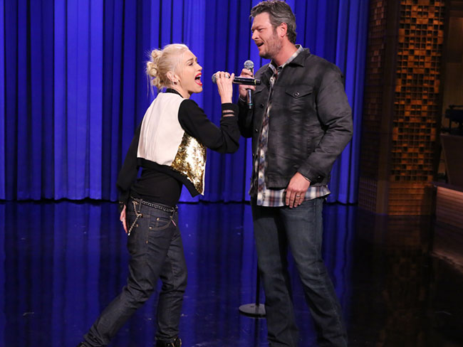 Watch: Gwen's an uh-mazing lip syncer!