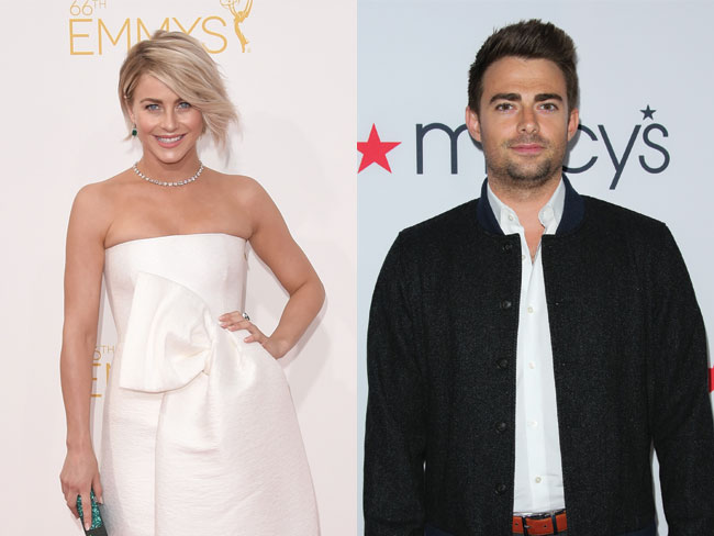 Julianne Hough outed Aaron Samuels