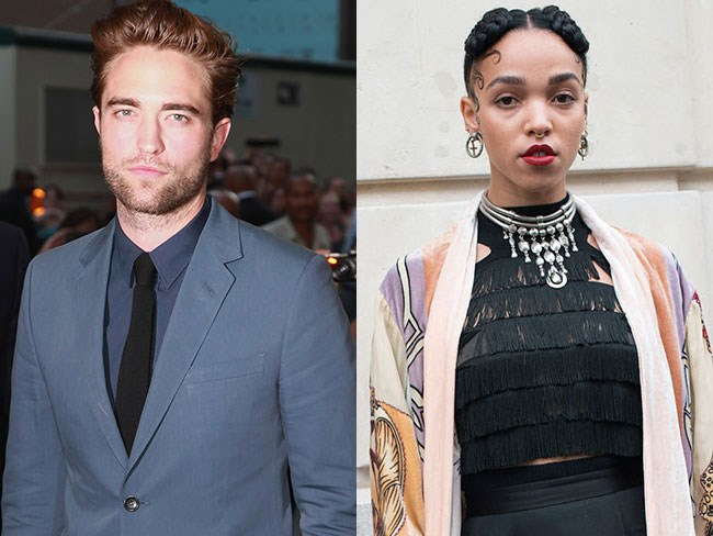 R-Pattz and FKA Twigs spotted holding hands