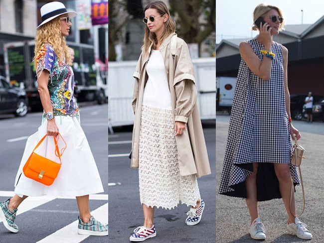 Shop the look: Dresses and sneakers : Cosmopolitan