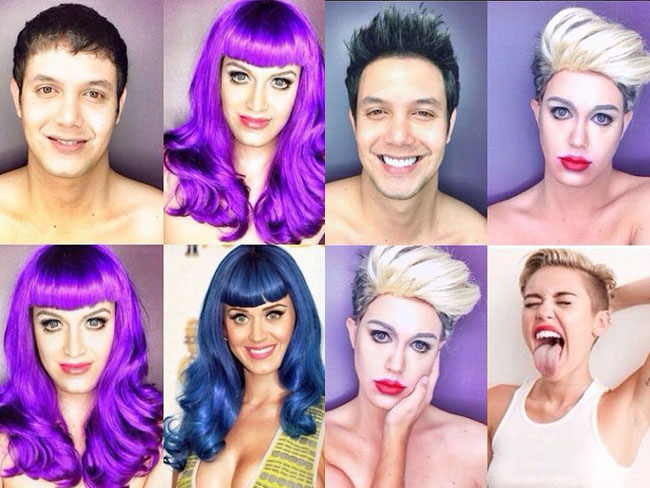 Man transforms himself into celebs, is amazing