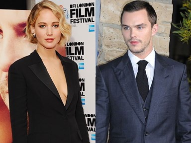 JLaw worried about upcoming love scenes with Nic Hoult