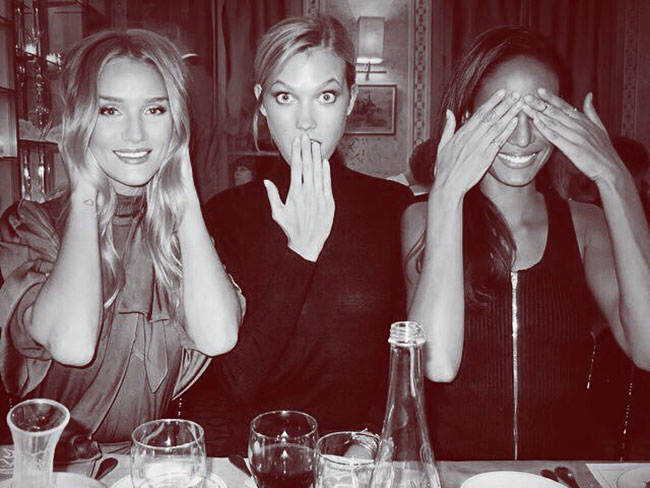 19 things we've learnt from Rosie Huntington-Whiteley's instagram
