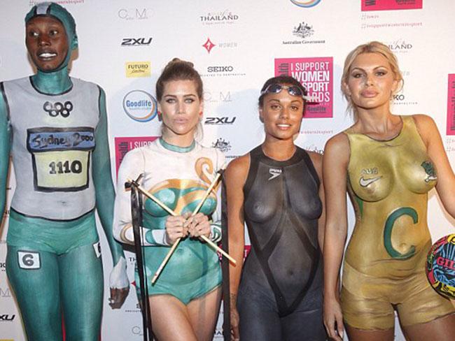 Women Sports Naked 88